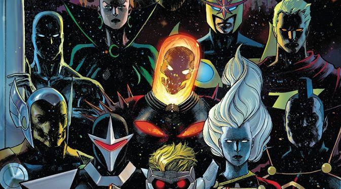 Guardianes de la Galaxia volumen 1 de Donny Cates y Geoff Shaw