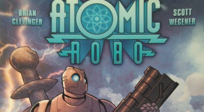 Atomic Robo Volumen 1: Atomic Robo y los científicos de acción de Tesladyne, de Brian Clevinger y Scott Wegener #Reseñoviembre Día 20