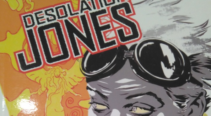 Desolation Jones, de Warren Ellis y J.H. Williams III #Reseñoviembre Día 18