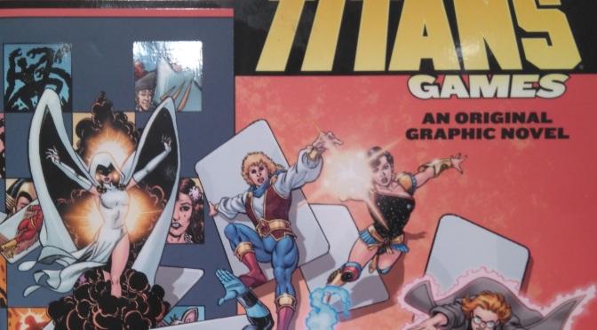 The New Teen Titans: Games, de Marv Wolfman y George Perez #Reseñoviembre 8