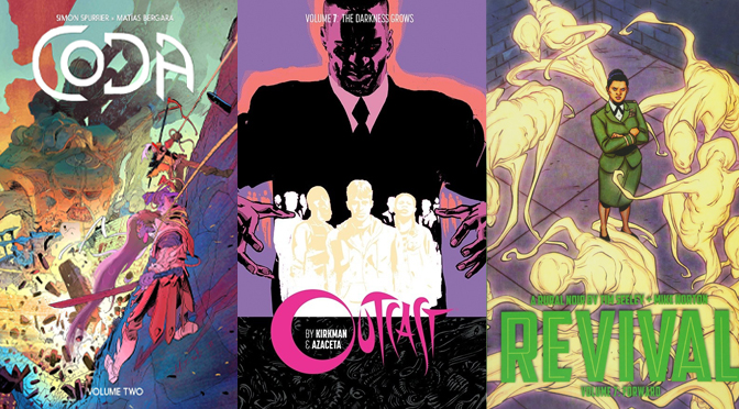 Reseñas Express: Coda vol. 2, Outcast vol. 7 y Revival vol. 7