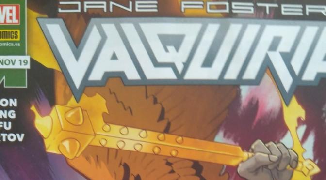 Valquiria Jane Foster 1, de Al Ewing, Jason Aaron y Cafu #Reseñoviembre día 16