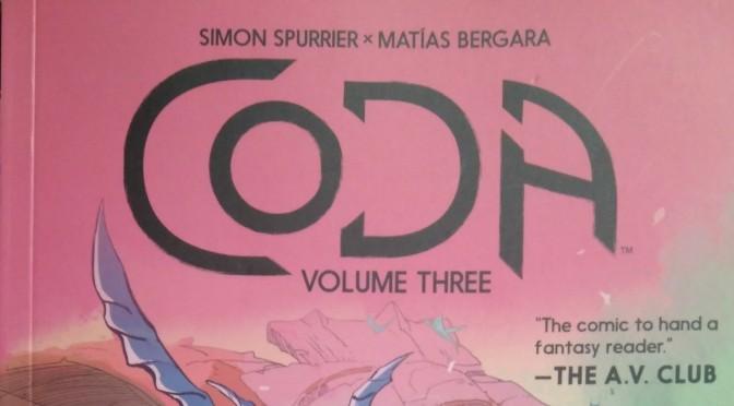 Crítica de Coda vol. 3 de Simón Spurrier y Matías Bergara (Boom Studios)