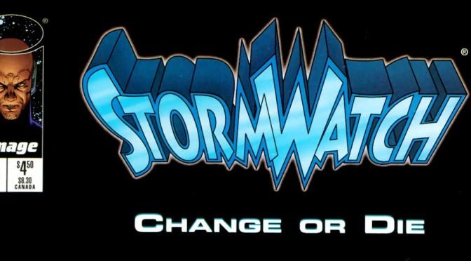 Leyendo StormWatch volumen 1 de Warren Ellis y Tom Raney