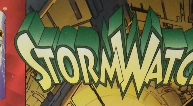 Leyendo StormWatch volumen 2 de Warren Ellis, Brian Hitch, Óscar Jiménez y Michael Ryan