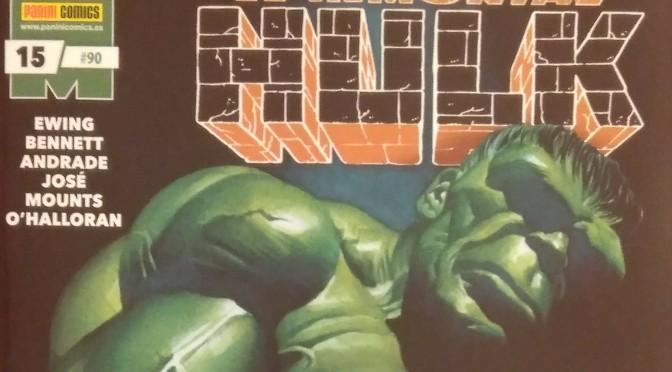 Crítica de El Inmortal Hulk de Al Ewing, Joe Bennet y Filipe Andrade