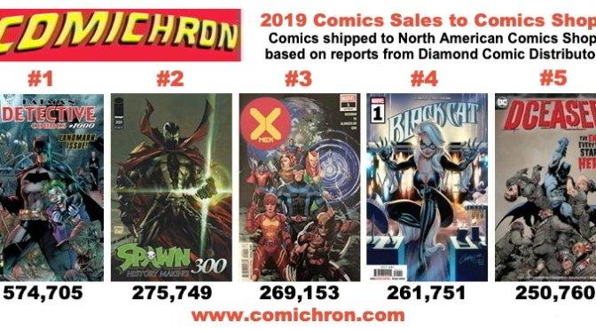 Las ventas de comics en USA crecen en 2019