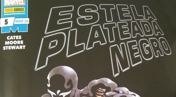 Crítica de Estela Plateada: Negro 5, de Donny Cates, Tradd Moore y Dave Stewart