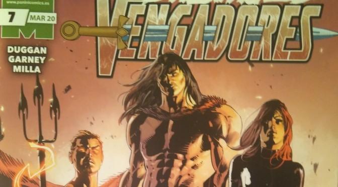 Crítica de Salvajes Vengadores 7, de Gerry Duggan, Ron Garney y Matt Milla