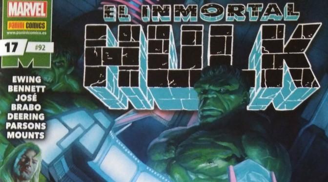 Crítica de Inmortal Hulk 17, de Al Ewing y Joe Bennett