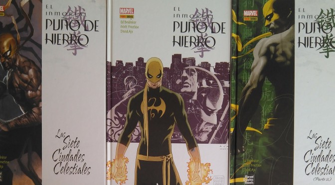 El Inmortal Iron Fist de Ed Brubaker, Matt Fraction y David Aja