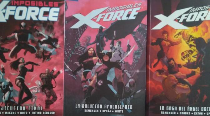 Imposibles X-Force de Rick Remender, Jerome Opeña, Esad Ribic, Greg Tocchini y Phil Noto