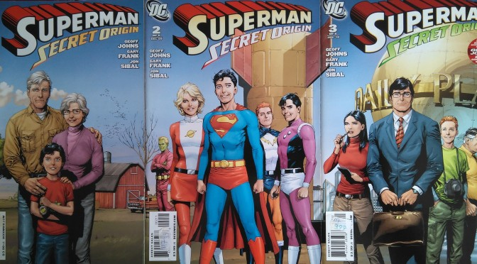 Crítica de Superman: Secret Origin de George Johns y Gary Frank