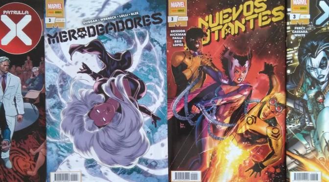 Crítica de Amanecer de X mes 3 (Marvel Comics – Panini)