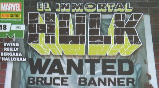 Crítica de El Inmortal Hulk 18 de Al Ewing, Tom Reilly y Matias Bergara (Marvel Comics – Panini)