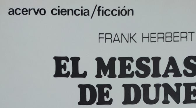 Crítica de El Mesías de Dune, de  Frank Herbert