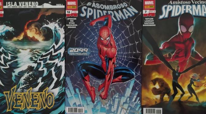 Crítica de Veneno 19, Asombroso Spiderman 16 y Amistoso Vecino Spiderman 7