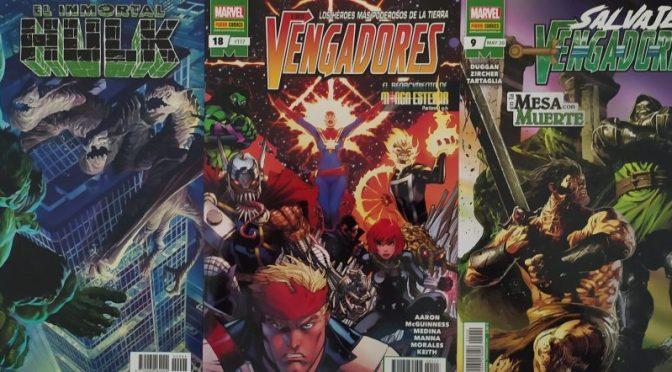 Crítica de Inmortal Hulk 19, Los Vengadores 18 y Salvajes Vengadores 9