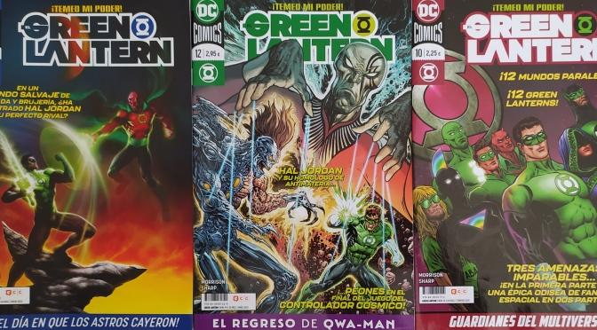 The Green Lantern vol 2: El día en que los astros cayeron, de Grant Morrison y Liam Sharp