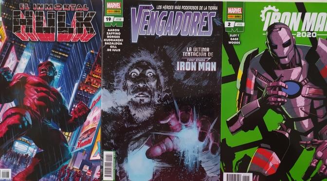 Crítica de Inmortal Hulk 20, Vengadores 19 e Iron Man 2020 2