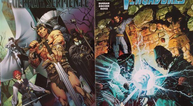 Crítica de Conan: La guerra de la Serpiente 1 y Salvajes Vengadores 10