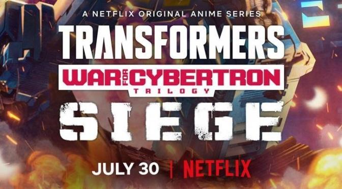 Crítica de Transformers: Trilogía de la guerra por Cybertron: Asedio (Netflix)