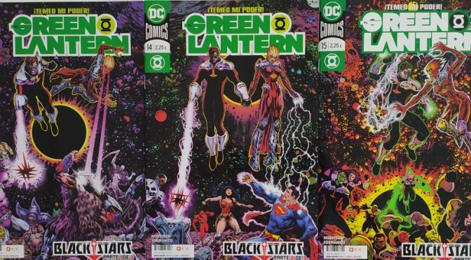 Crítica de The Green Lantern: Blackstars de Grant Morrison y Xermánico