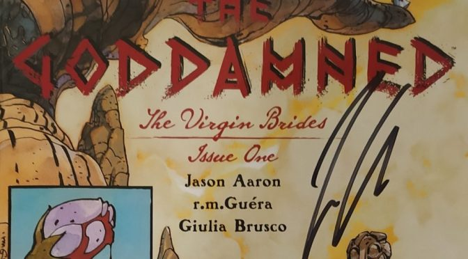 Crítica de The Goddamned: The virgin brides 1 de Jason Aaron y R.M. Guéra