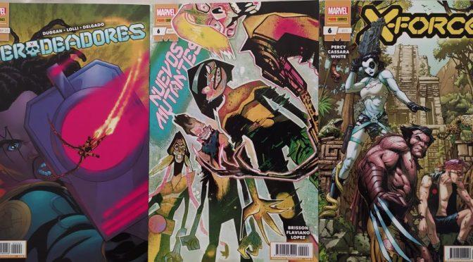 Crítica de Merodeadores 6, Nuevos Mutantes 6 y X-Force 6