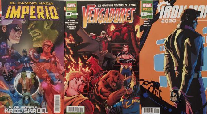 Crítica de Imperio 0, Vengadores 20 e Iron Man 2020 3 (Marvel Comics – Panini)
