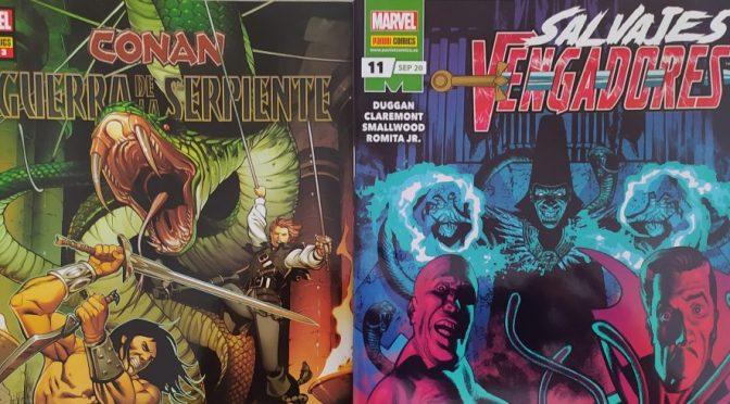 Crítica de Conan: La guerra de la serpiente 2 y Salvajes Vengadores 11