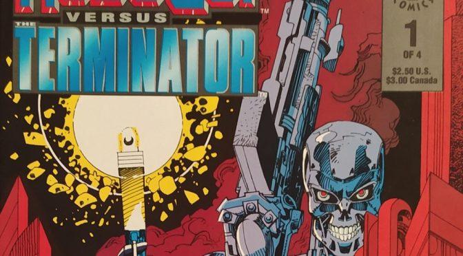 Robocop vs Terminator de Frank Miller y Walter Simonson (Dark Horse)
