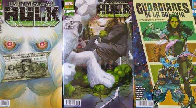 Crítica de El Inmortal Hulk 21 y 22 y Guardianes de la Galaxia 3