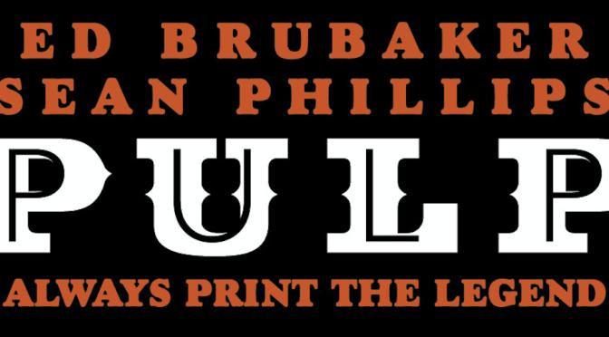 Crítica de Pulp de Ed Brubaker y Sean Phillips