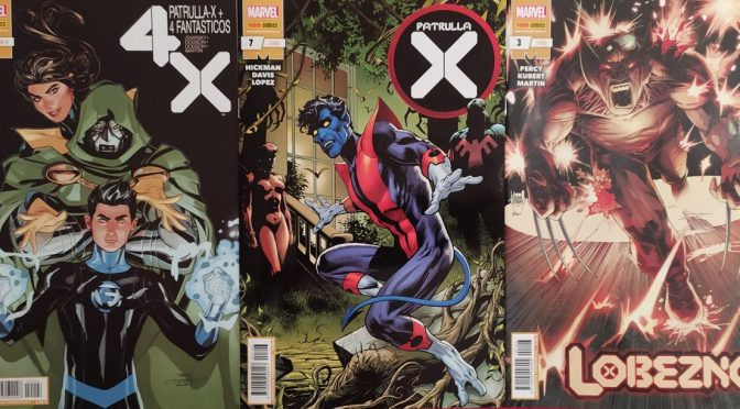 Crítica de Patrulla X + 4 Fantásticos 4, Patrulla X 7 y Lobezno 3 (Marvel Comics)