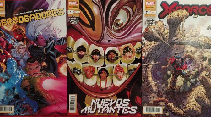 Crítica de Merodeadores 7, Nuevos Mutantes 7 y X-Force 7 (Marvel Comics)