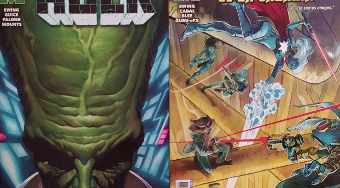Crítica de El Inmortal Hulk 23 y Guardianes de la galaxia 4, de Al Ewing, Butch Guice y Juann Cabal
