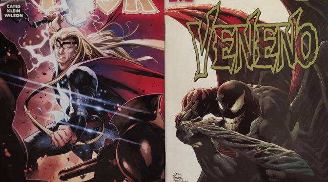 Crítica de Thor 3 y Veneno 22 de Donny Cates, Nick Klein y Mark Bagley
