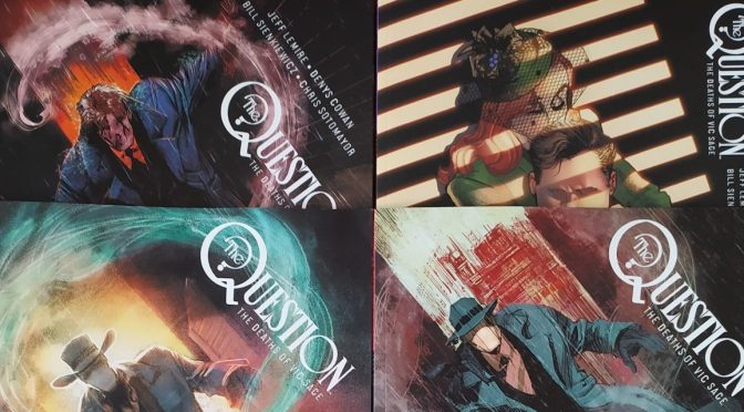 Crítica de The Question: The many deaths of Vic Sage, de Jeff Lemire, Denys Cowan, Bill Sienkiewicz y Chris Sotomayor