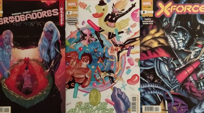 Crítica de Merodeadores 8, Nuevos Mutantes 8 y X-Force 8 (Marvel Comics – Panini)