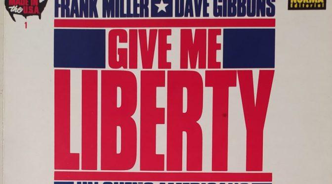 Crítica de Give Me Liberty de Frank Miller y Dave Gibbons (Dark Horse Comics – Norma Editorial)