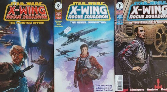 Crítica de Star Wars: X-Wing Rogue Squadron de Michael A. Stackpole (Comic Dark Horse)