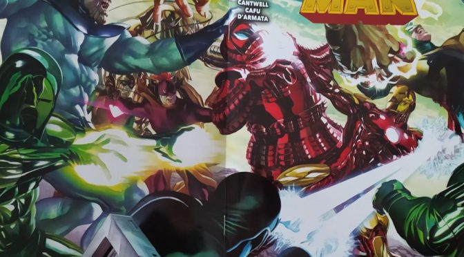Crítica de Iron Man 1 de Christopher Cantwell y Cafu (Marvel Comics – Panini)