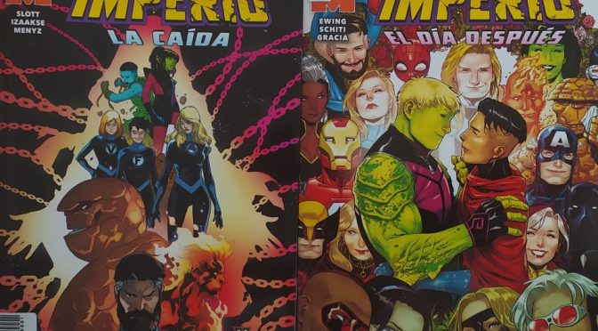 Crítica de Imperio: El día después y La caída (Marvel Comics – Panini)