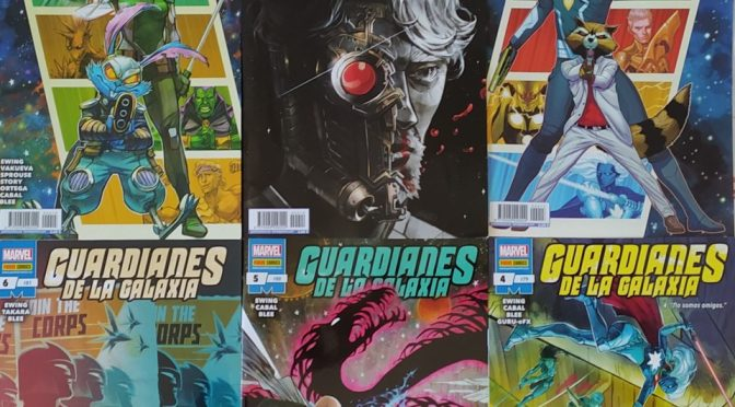 Crítica de Guardianes de la Galaxia Vol.1 de Al Ewing y Juann Cabal (marvel Comics – Panini)