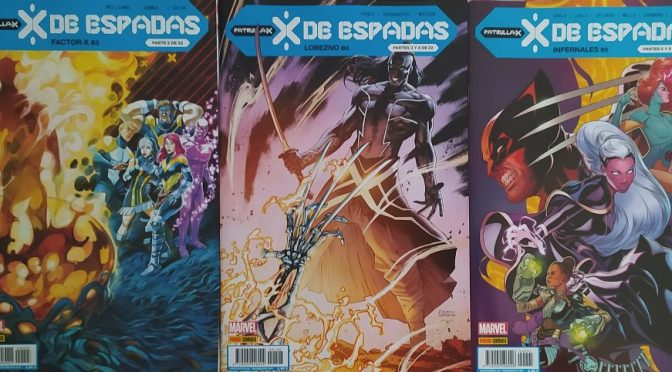 X de Espadas. Reseña de los comics de Febrero (1ª parte – Factor X, Lobezno e Infernales)