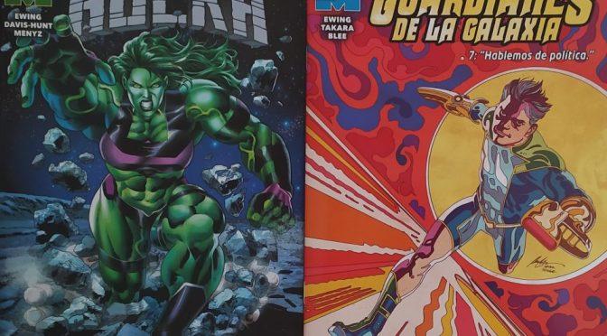 Crítica de La Inmortal Hulka y Guardianes de la Galaxia 7 de Al Ewing, Jon Davis-Hunt y Marcio Takara
