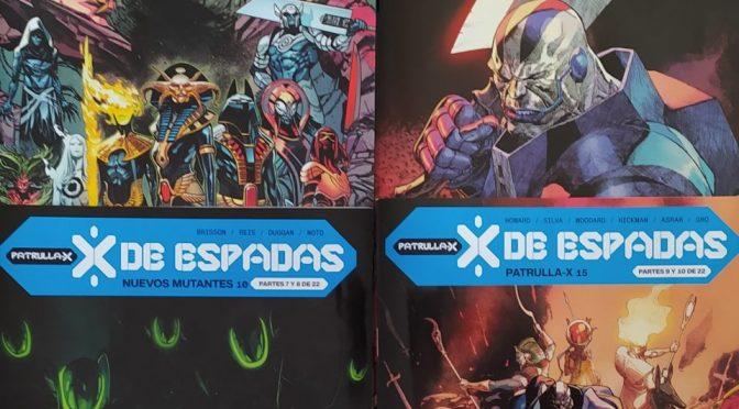 X de Espadas. Reseña de los comics de Febrero (2ª parte – Nuevos Mutantes, Patrulla X, Excalibur y Merodeadores)