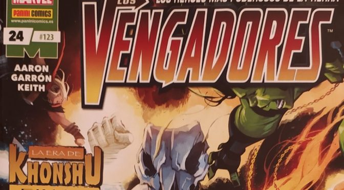 Crítica de Vengadores 24 de Jason Aaron y Javier Garrón (Final de La era de Khonshu)