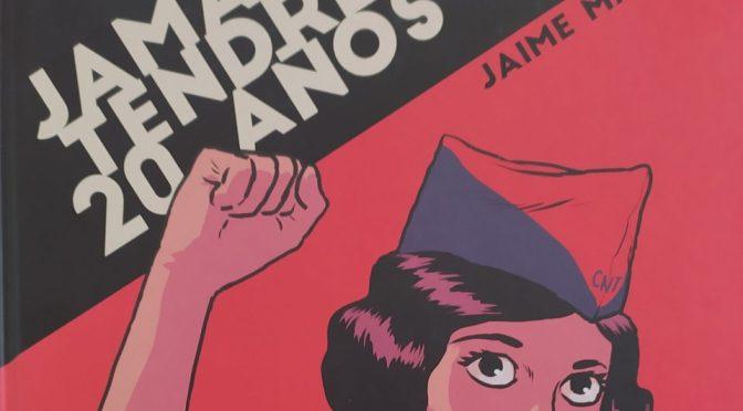 Crítica de Jamás tendré 20 años, de Jaime Martín (Norma Editorial)
